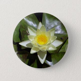 Badge Lotus jaune et protections de lis