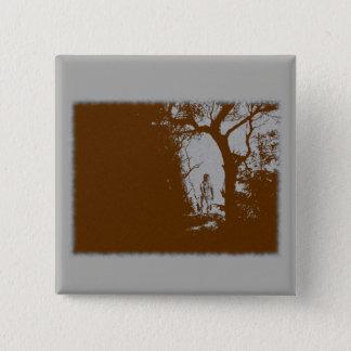 Badge Loup-garou dans le bouton de variante de forêt