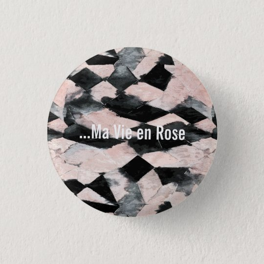 Badge Ma Vie en Rose
