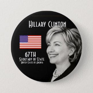 Badge Madame le secrétaire (rond)