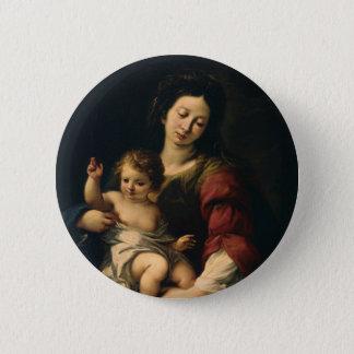 Badge Madonna et enfant