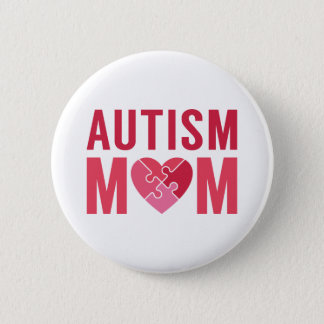 Badge Maman d'autisme