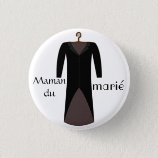 Badge maman du marié