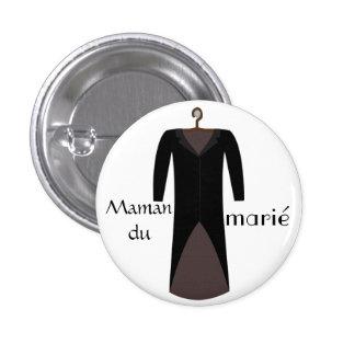 Badge maman du marié