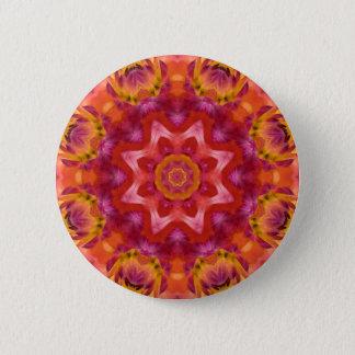 Badge Mandala 05 de fleur