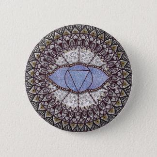 Badge Mandala de Chakra de troisième oeil