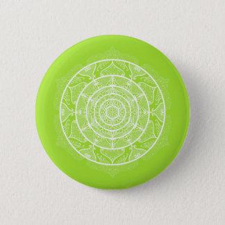 Badge Mandala de chaux
