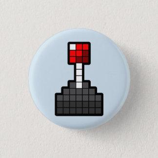 Badge Manette de pixel bleu-clair