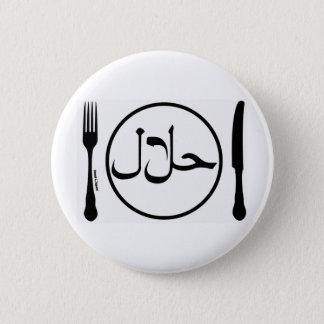 Badge Mangez la viande halal