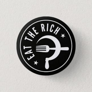 Badge Mangez le marteau et la faucille riches