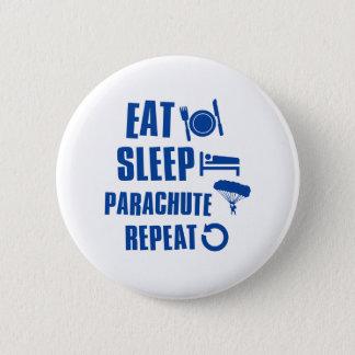 Badge Mangez le parachute de sommeil
