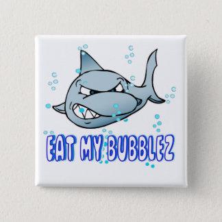 Badge Mangez mon Bubblez