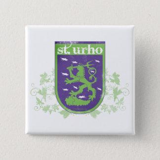Badge Manteau de St Urho des bras - bouton