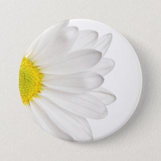 Badge Marguerites customisées par arrière - plan de