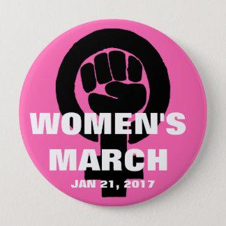 BADGE MARS DES FEMMES SUR WASHINGTON, LE 21 JANVIER 2017