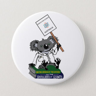 Badge Mars pour la Science Australie - koala