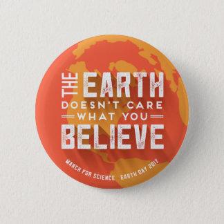 Badge Mars pour le bouton de réchauffement climatique de