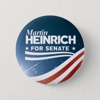 Badge Martin Heinrich pour le sénat