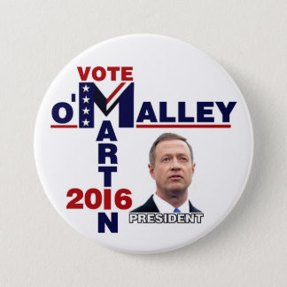 Badge Martin O'Malley pour le président 2016