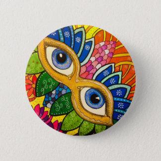 Badge Masque vénitien