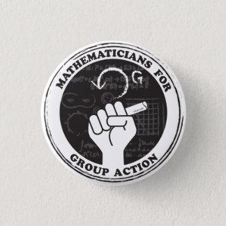 Badge Mathématiciens pour le bouton d'action de groupe
