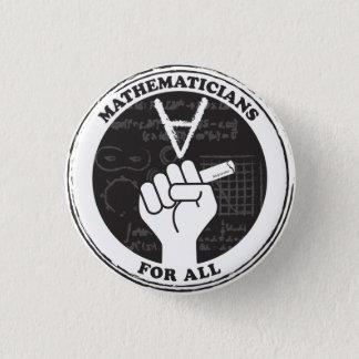 Badge Mathématiciens pour tout le bouton