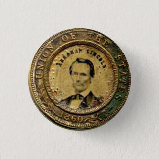 Badge Médaille de Lincoln - bouton