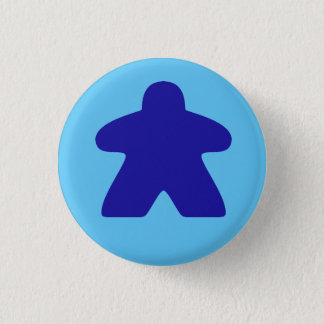 Badge Meeple bleu