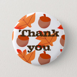 Badge Merci, thanksgiving