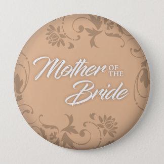 Badge Mère du bouton de jeune mariée pour Fourre-tout