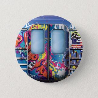 Badge Métro de graffiti