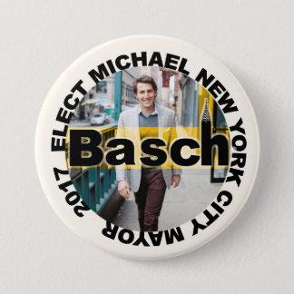 Badge Michael Basch pour le maire