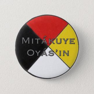 Badge Mitakuye Oyasin tout mon Pin de relations dans