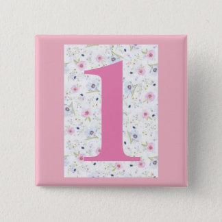 Badge mon numéro de maison insigne carré de -1 - de