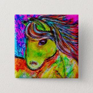 Badge mon peu de poney au néon