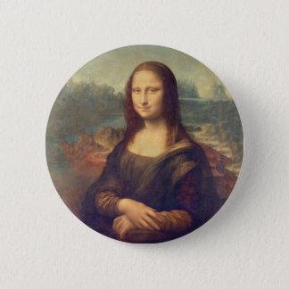 Badge Mona Lisa par Leonardo da Vinci