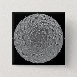 Badge Mosaïque lunaire de la région polaire du sud du m