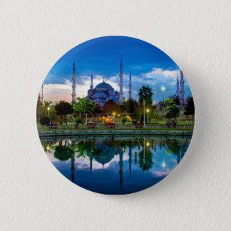 Badge Mosquée bleue d'Istanbul en Turquie