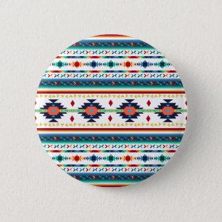 Badge motif géométrique de Navajo ethnique tribal à la