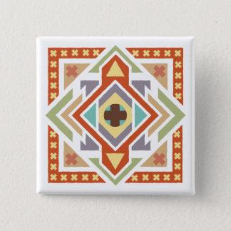 Badge Motif tribal ethnique du sud-ouest