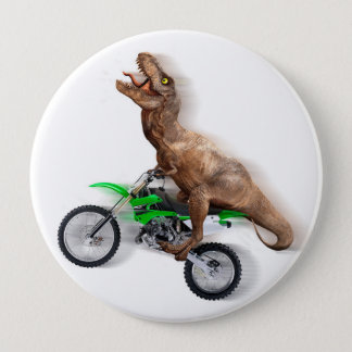 Badge Moto de rex de T - tour de rex de t - rex volant
