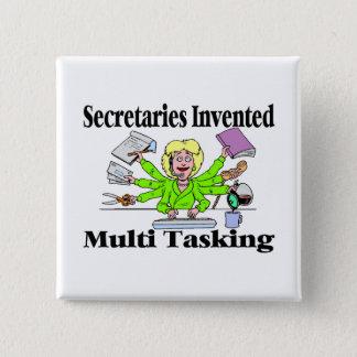 Badge Multi Tasking de secrétaires Invented