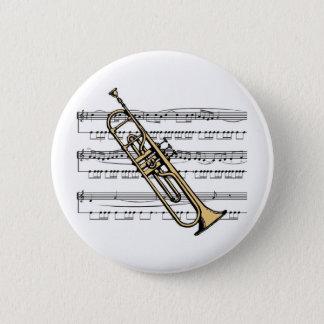 Badge Musical 11 B de trompette