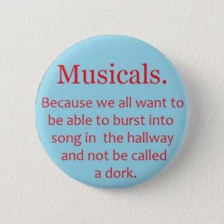 Badge Musicaux
