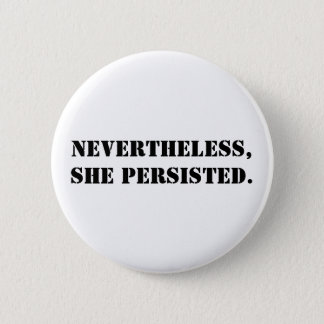 Badge Néanmoins, elle a persisté