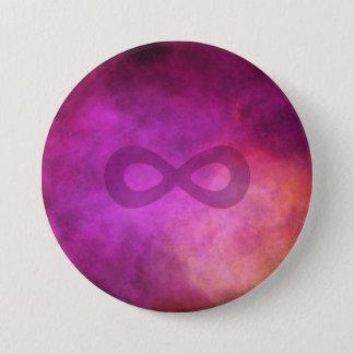 Badge Neuro- galaxie - Pin de Neurodiversity