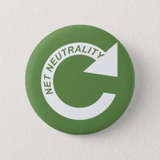 Badge Neutralité nette de recharge - blanc