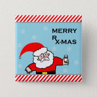 Badge Noël de pharmacien