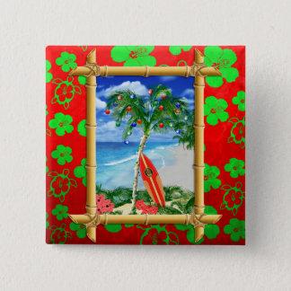 Badge Noël de plage