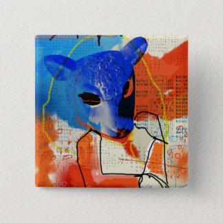 Badge Noir orphelin | Mk - silhouette de masque de